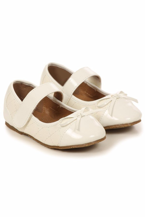 New Girls Black Ivory White Dress Shoes Mary Jane Baby Toddler Youth Kids 6