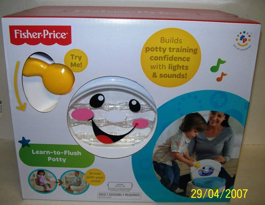 Fisher Price Learn to Flush Potty Training Toddler with Ligh