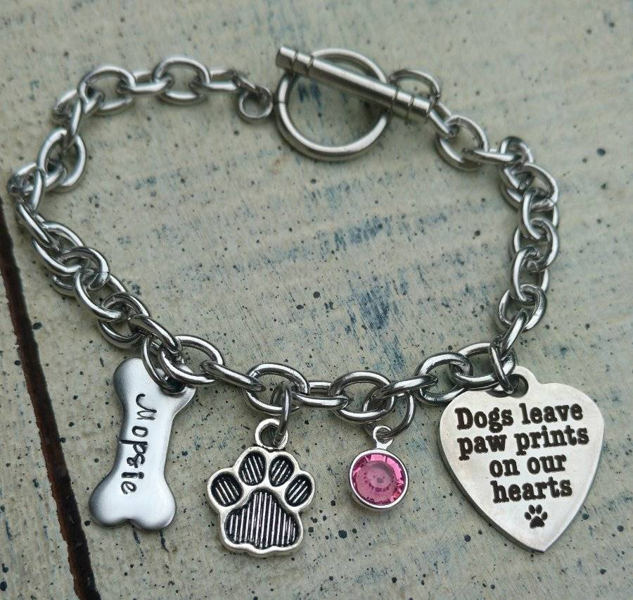 Custom stainless steel and aluminum bracelets, military style dog tags and helmet plates.