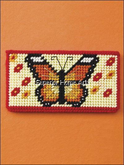 checkbook covers plastic canvas patterns designs book butterfly eagle lighthouse