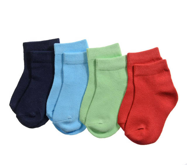 NEW Baby Toddler Boy 4 Pair Sock Set  0-6 or 6-12 months